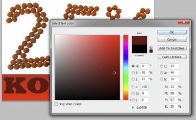Chocoladebruin is meestal een heel donkerrode kleur.
